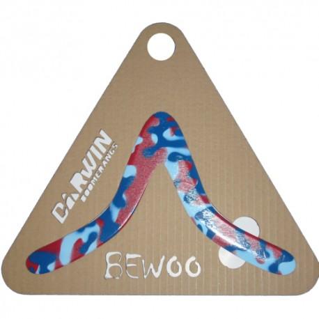 Bewoo Camo Bleu Rouge