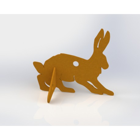Pack of 3 targets Rabbit